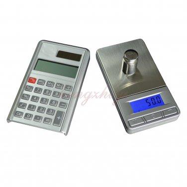 1kg 1000g x 0.1g Pocket Digital Jewelry Gold Silver Coin Scale Balance w Calculator, Free Shippig