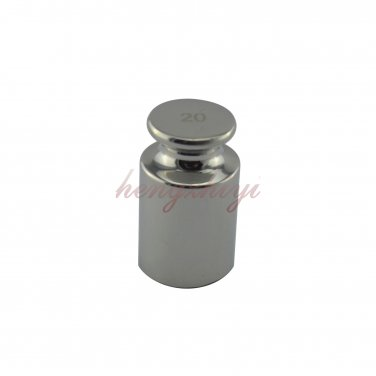 F1 Class 20G 304 Stainless Steel Calibration Weight w Certificate Scale Weights, Free Shipping