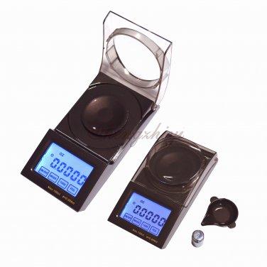 100carat x 0.005carat Digital Portable Jewelry Diamond Gem Carat Scale w Counting, Free Shipping
