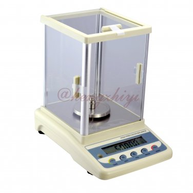 500carat x 0.005carat Digital Diamond Carat Scale + Shield + Germany Sensor + RS232 Interface