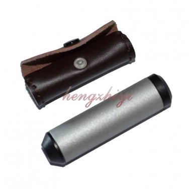 Small Diffraction Grating Spectroscope Gem Gemstone Gemology Tool w Leather Case, Free Shipping