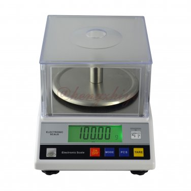 600g x 0.01g Electronic Laboratory Precison Scale Balance w Wind Shield + Counting, Free Shipping
