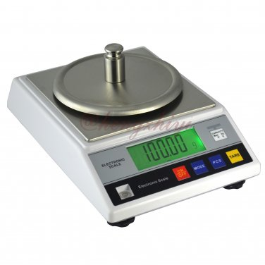 1000g x 0.01g Electronic Jewelry Gold Silver Scale w Wind Shield + Germany Sensor, Free Shipping