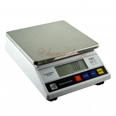 7.5kg x 0.1g Digital Precision Industrial Weighing Scale Balance w Counting, Free Shipping