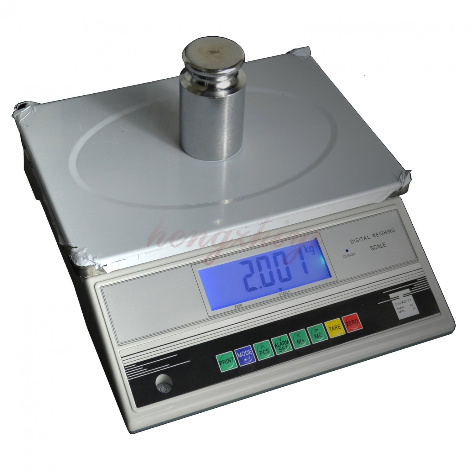 15kg x 0.5g Precision Heavy Weighing Digital Industrial Scale Balance w Counting, Free Shipping