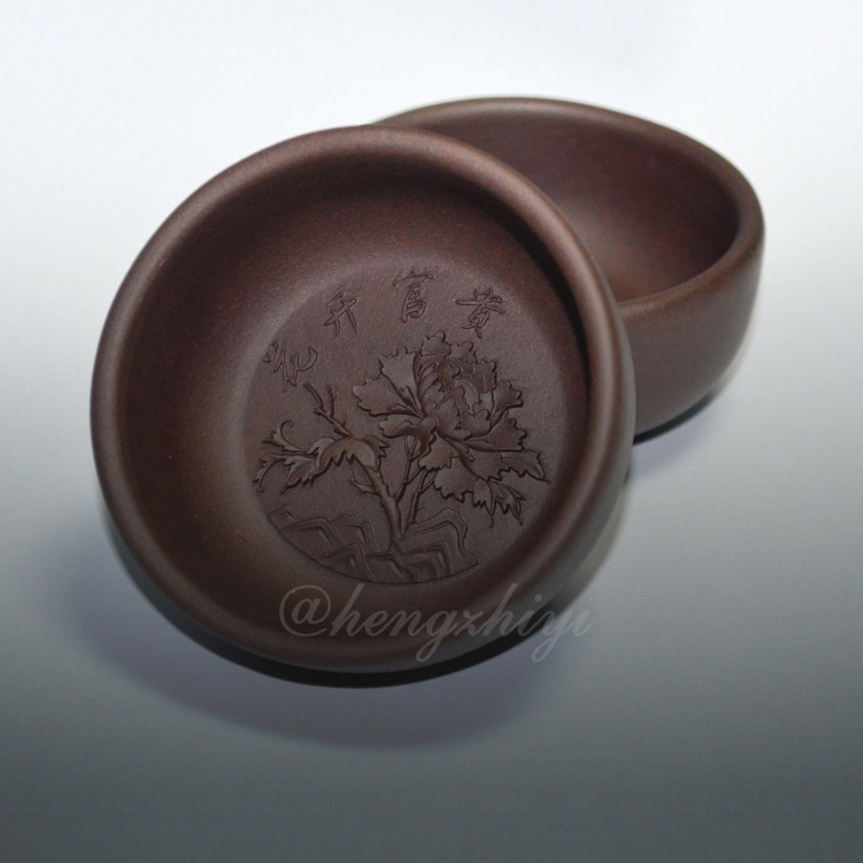 Handmade 2PCS 70ml Chinese Yixing Zisha Unglazed Clay Tea Cup Pottery Tea Cup, Free Shipping