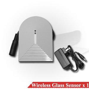 Wireless Glass Break Sensor Wire-free Glass Break Detector GB-001