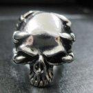 Men's heavy cool 316L stainless steel finger biker popular ring size 11