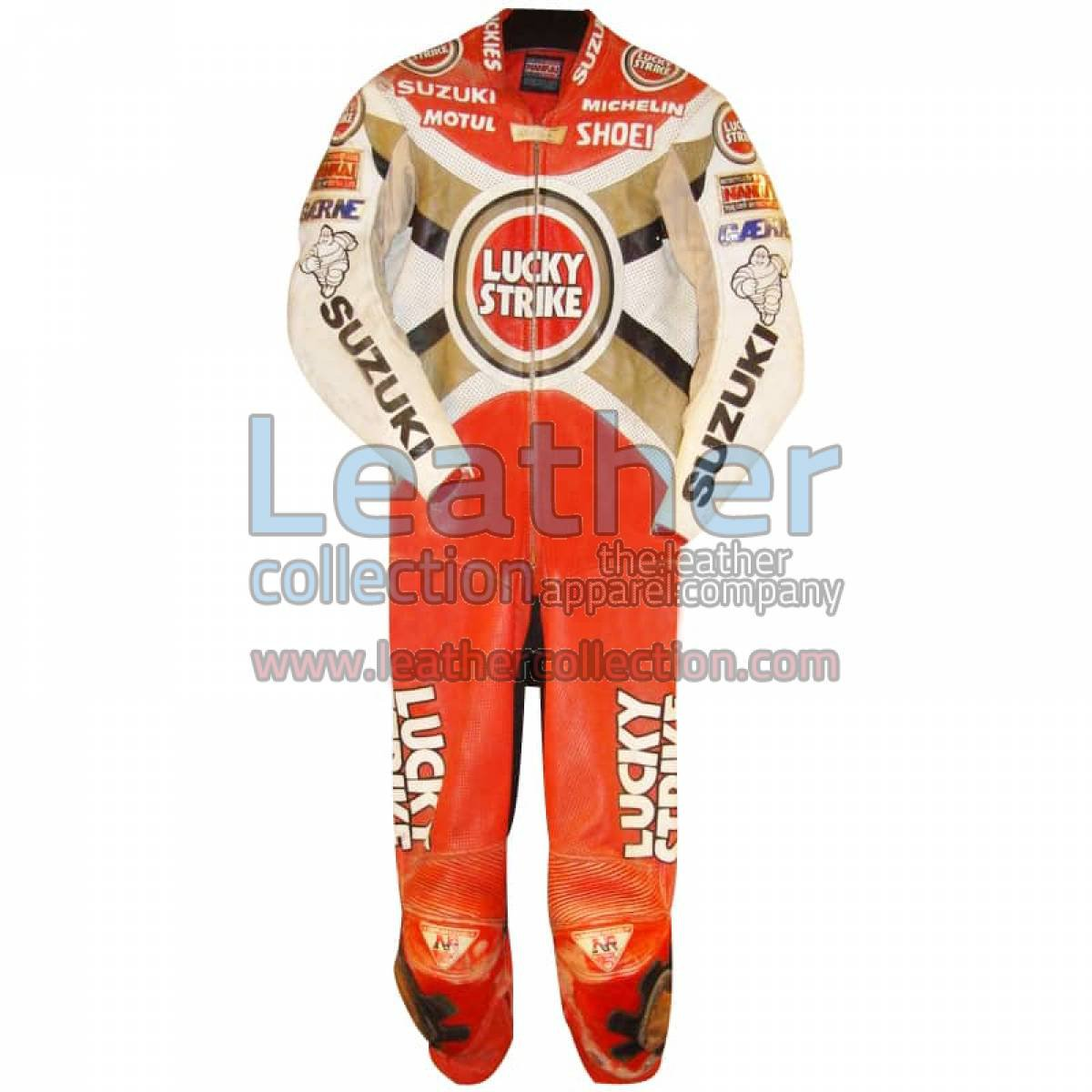 Alex Barros Suzuki Lucky Strike 1994 MotoGP Leathers