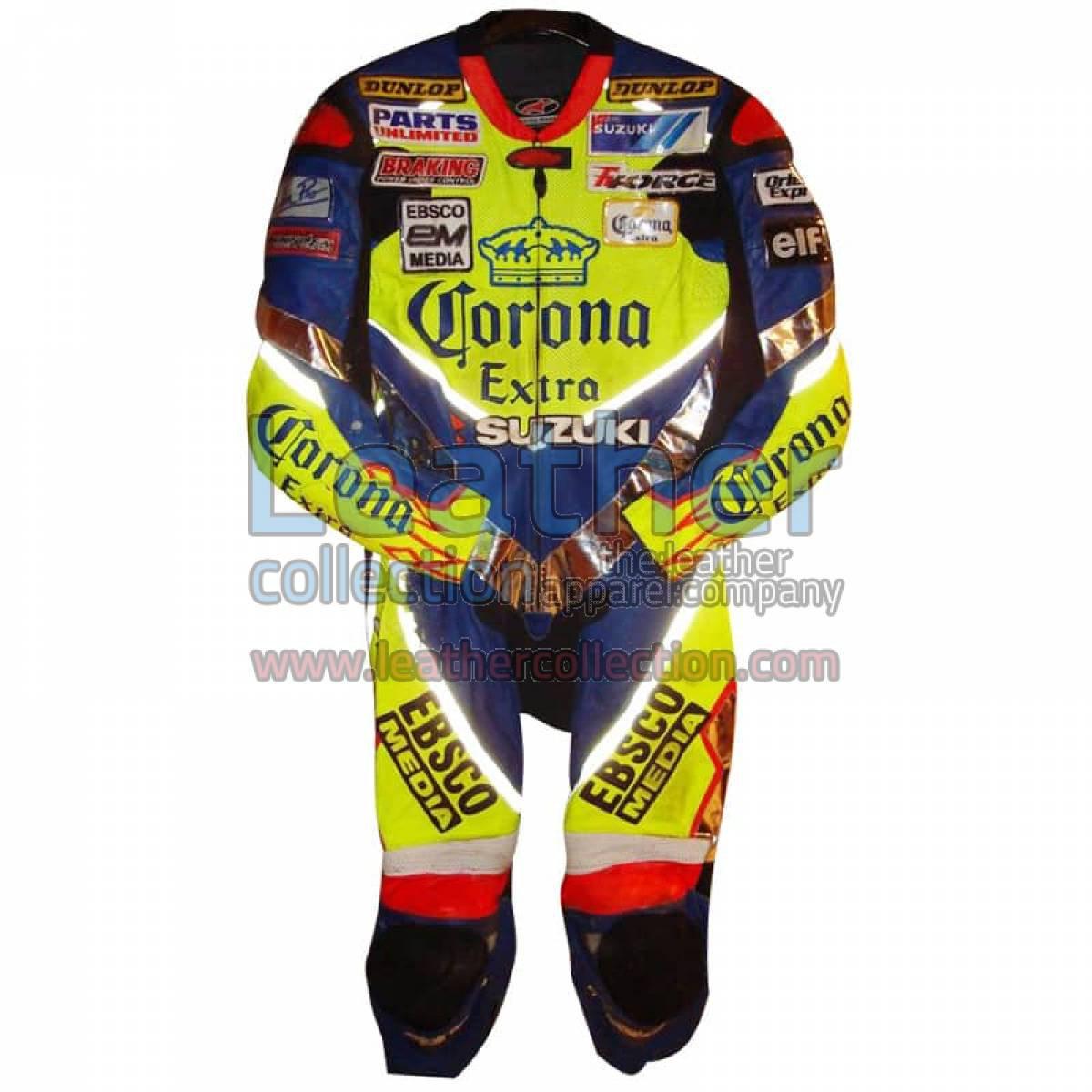 Anthony Gobert 2003 Corona Suzuki Leathers