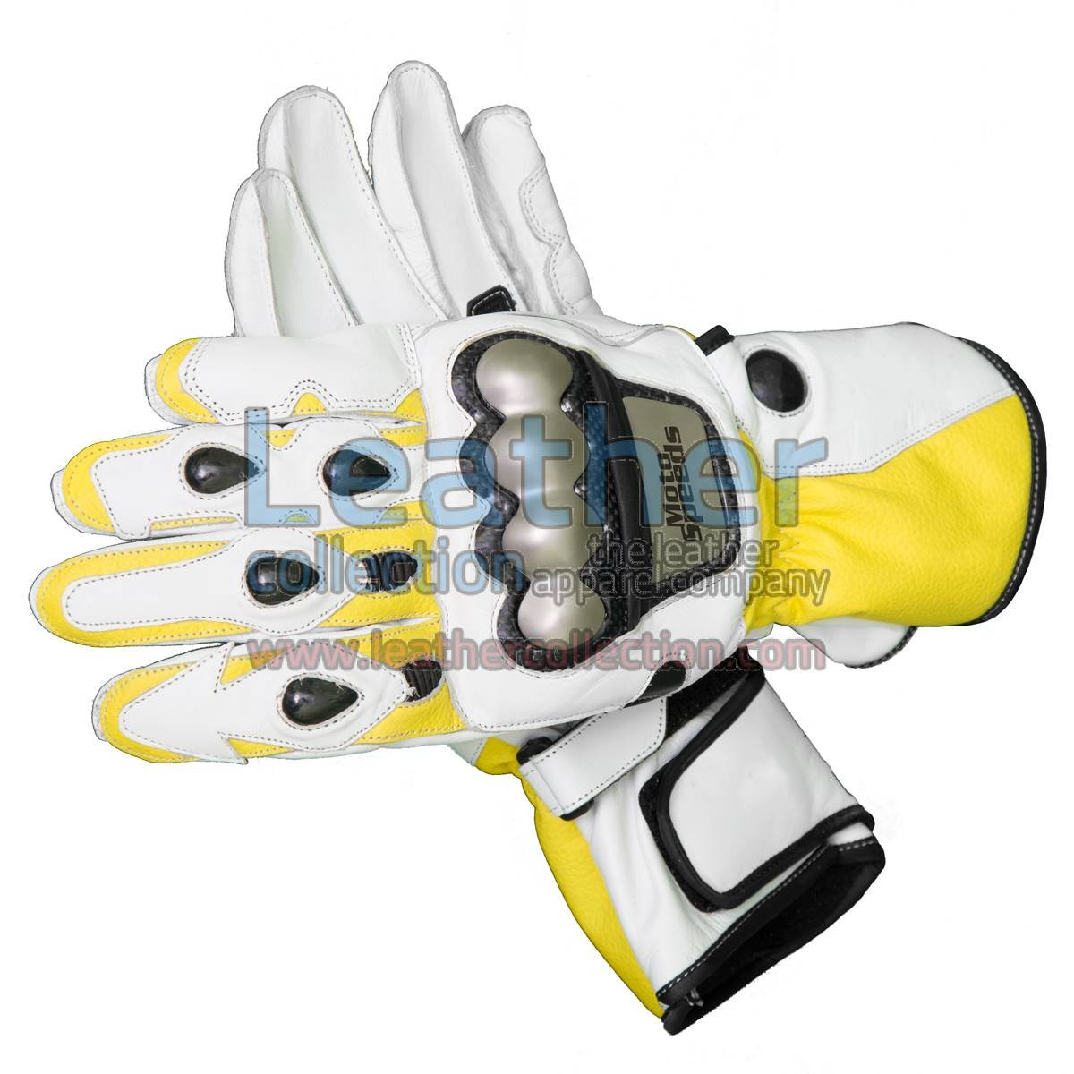 Ben Spies 2010 Motorbike Leather Gloves