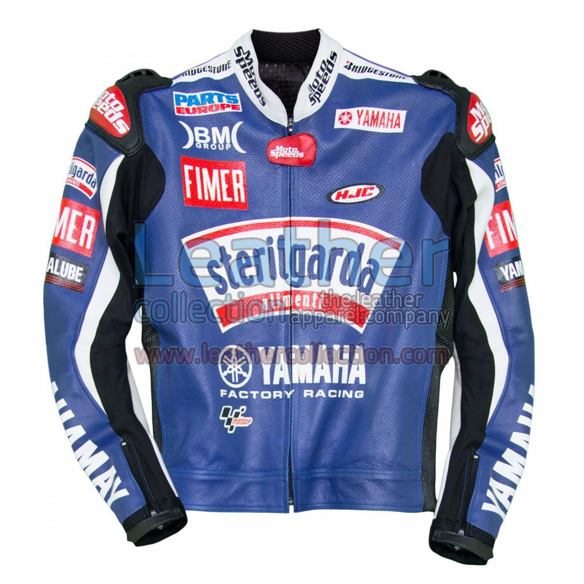 Ben Spies Sterilgarda Yamaha 2009 MotoGP Leather Jacket