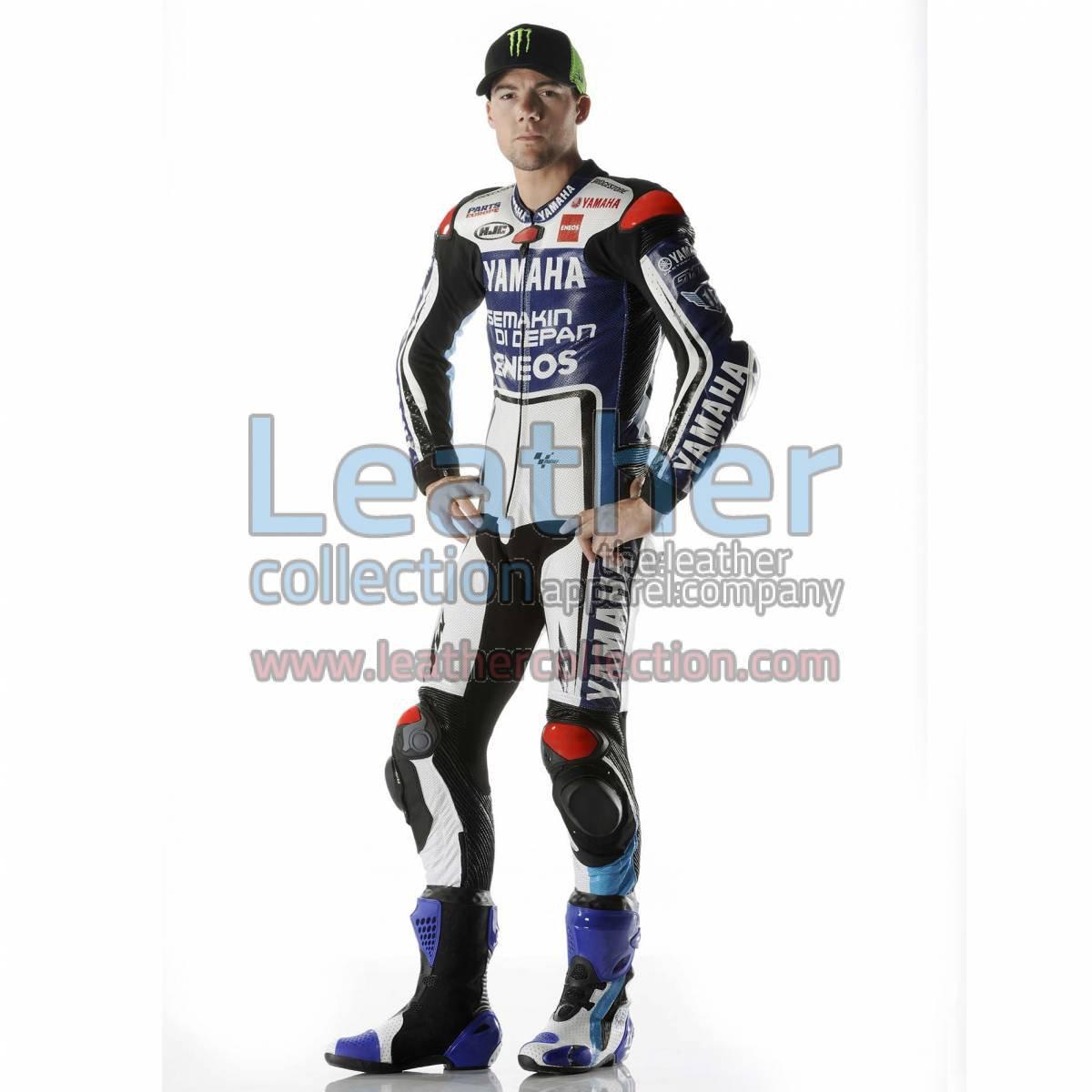 Ben Spies Yamaha 2012 MotoGP Leather Biker Suit