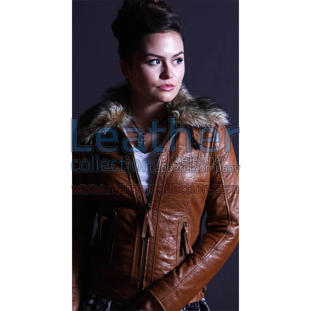Billy Leather jacket Women