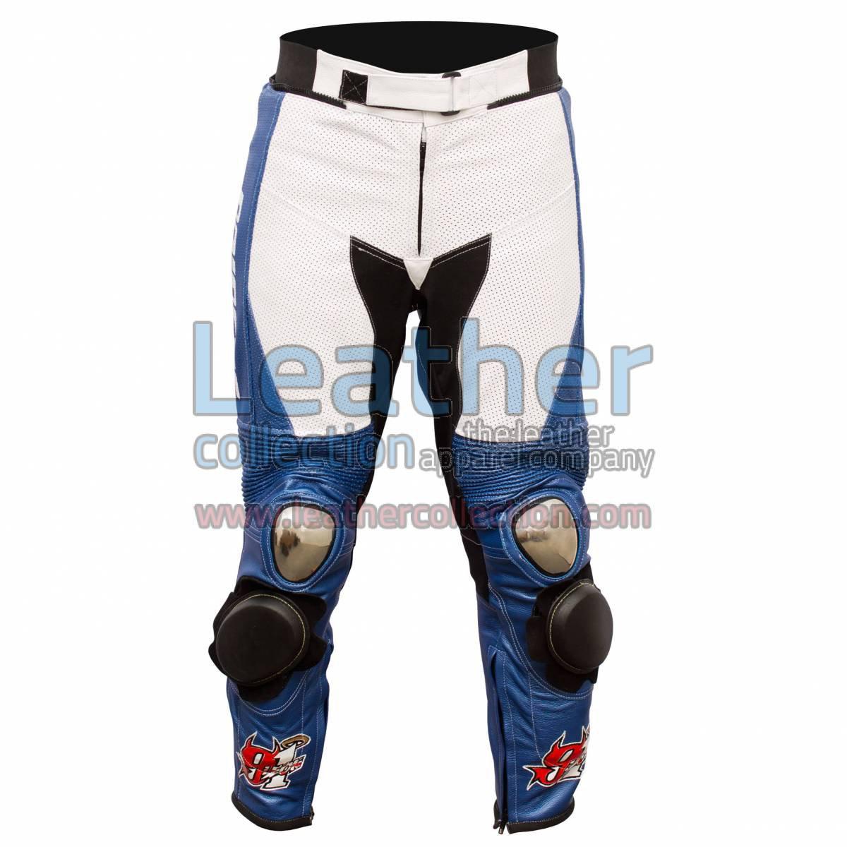 BMW easy Ride Motorbike Leather Pants Leon Haslam