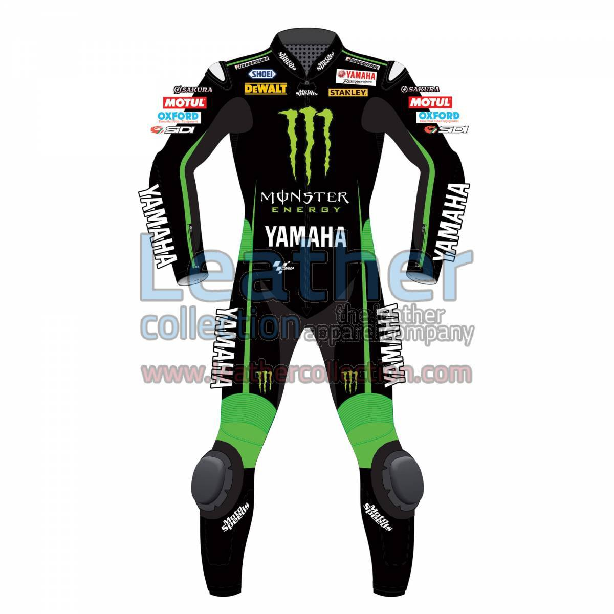 Bradley Smith Yamaha Monster 2015 Leathers