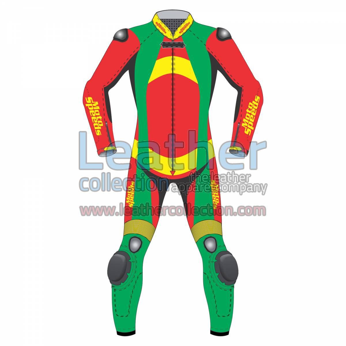 Bravo Leather Biker Suit