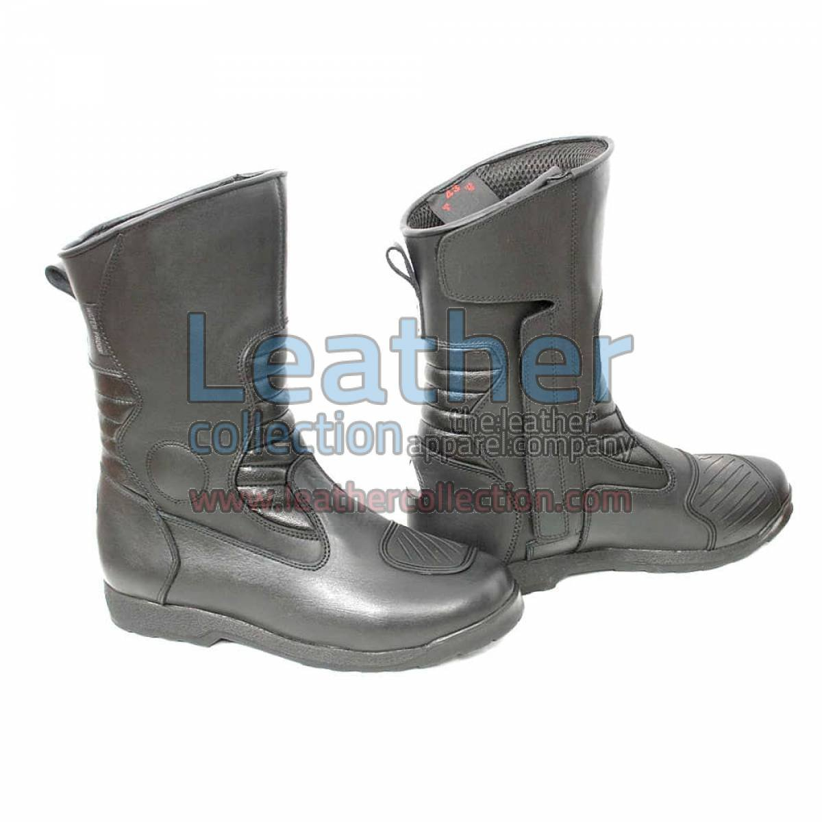 Classic Motorcycle Boots Black