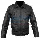 Classic Style Leather Jacket