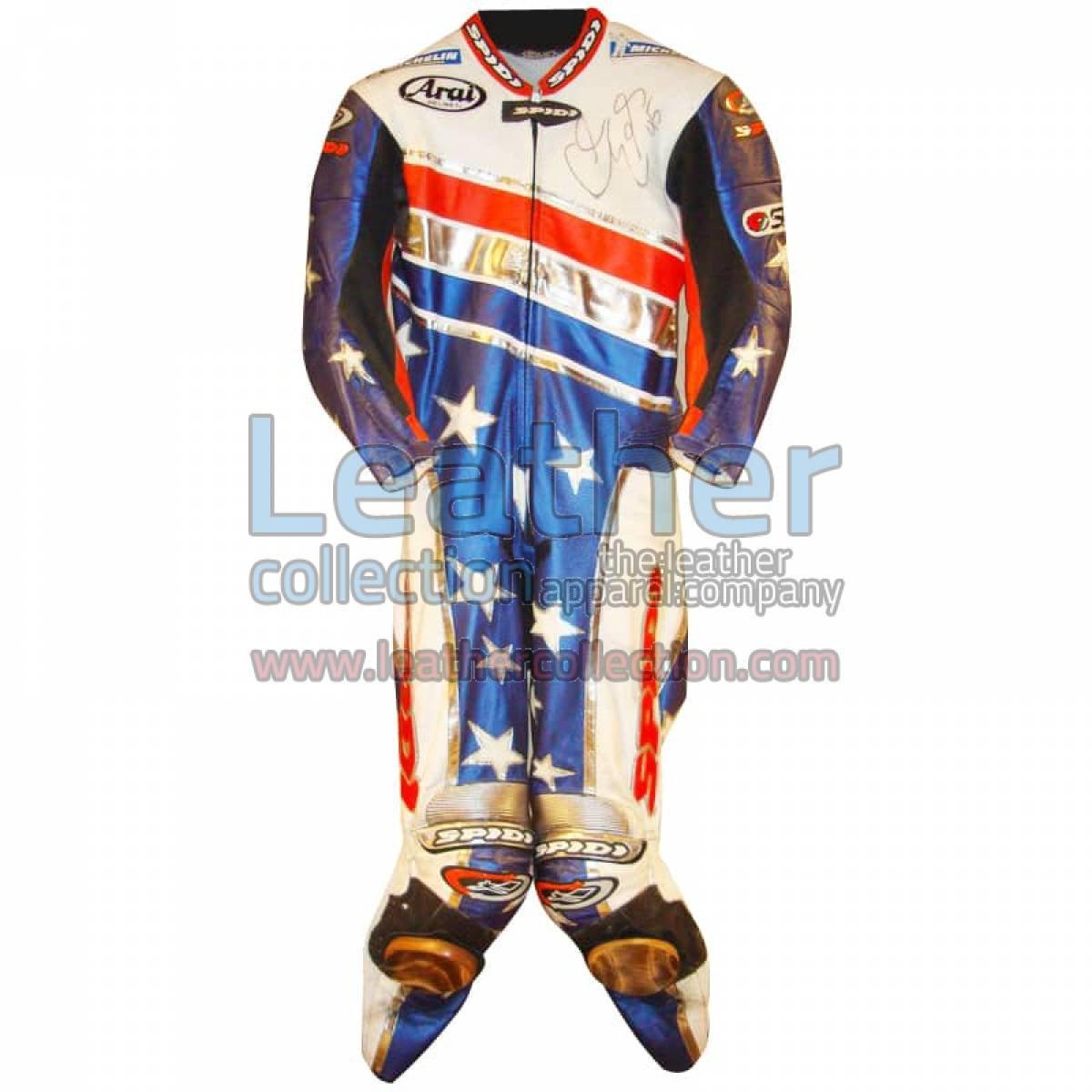Colin Edwards Aprilia Leathers 2003 MotoGP Pre-season