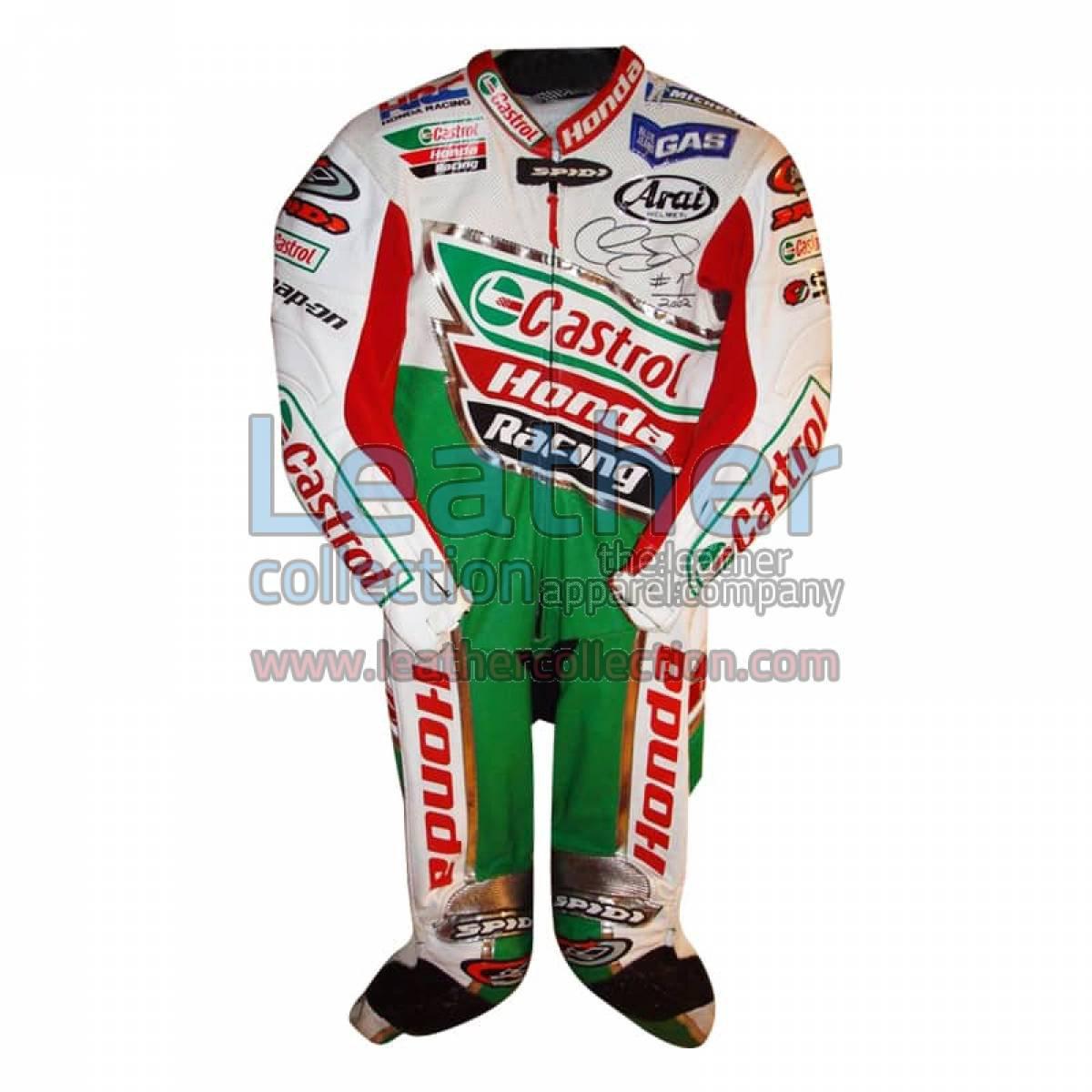 Colin Edwards Castrol Honda Leathers 2002 WSBK