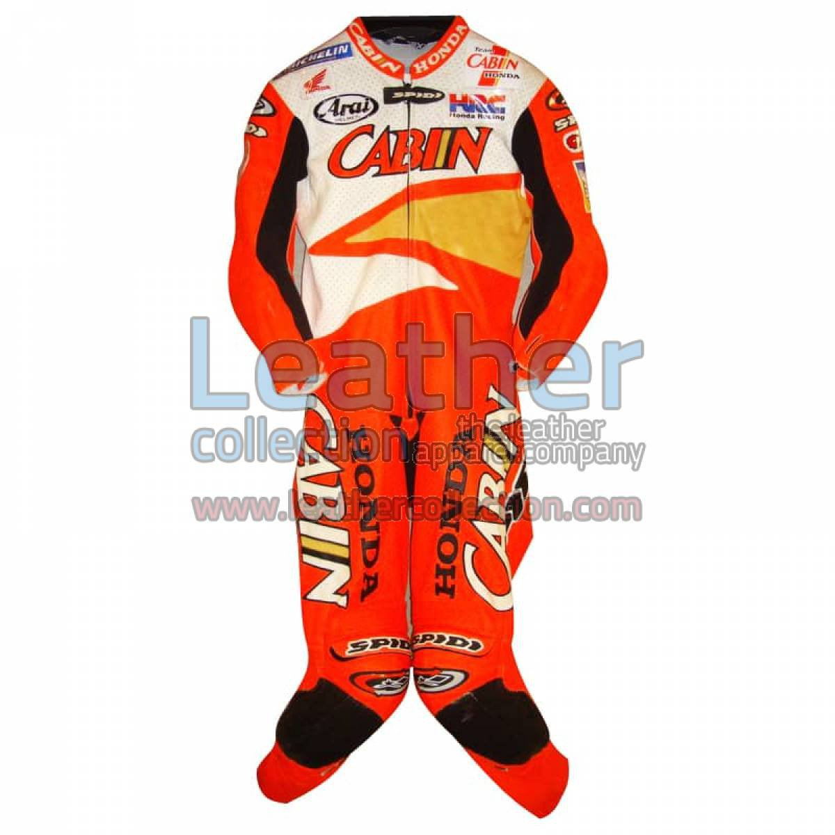 Colin Edwards Honda Leathers 2002 Suzuka 8 Hours