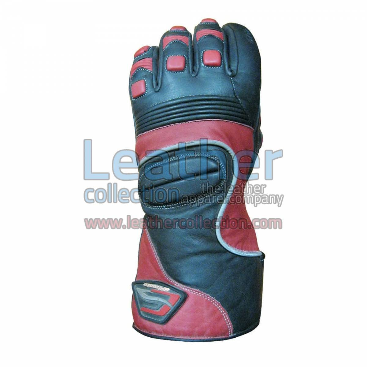 Crescent Motorcycle Leather Gloves