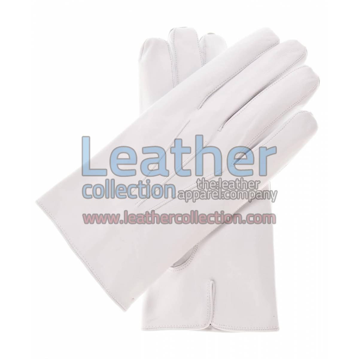 Crust Lambskin Fashion Gloves