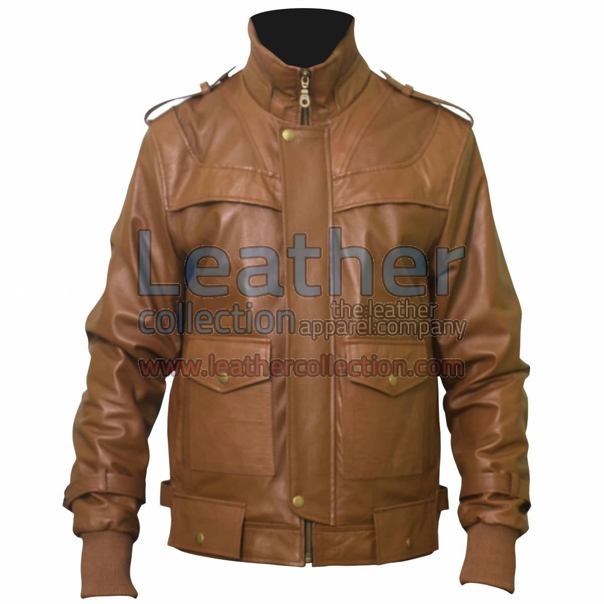 Curious Mens Fashion Leather jacket