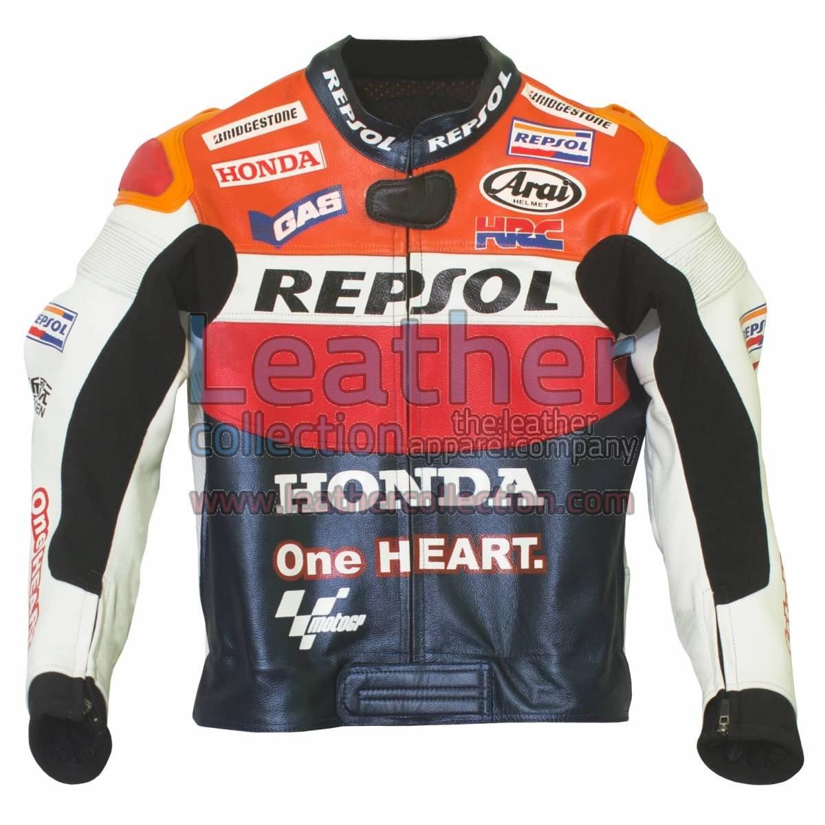 Dani Pedrosa 2012 Honda Repsol One Heart Race Jacket