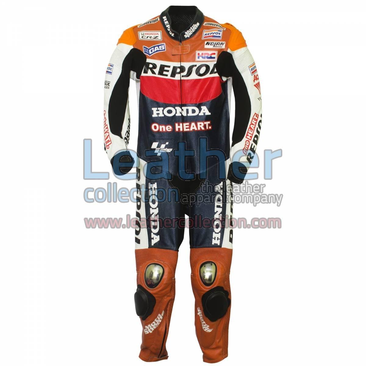 Dani Pedrosa 2012 Honda Repsol One Heart Race Suit
