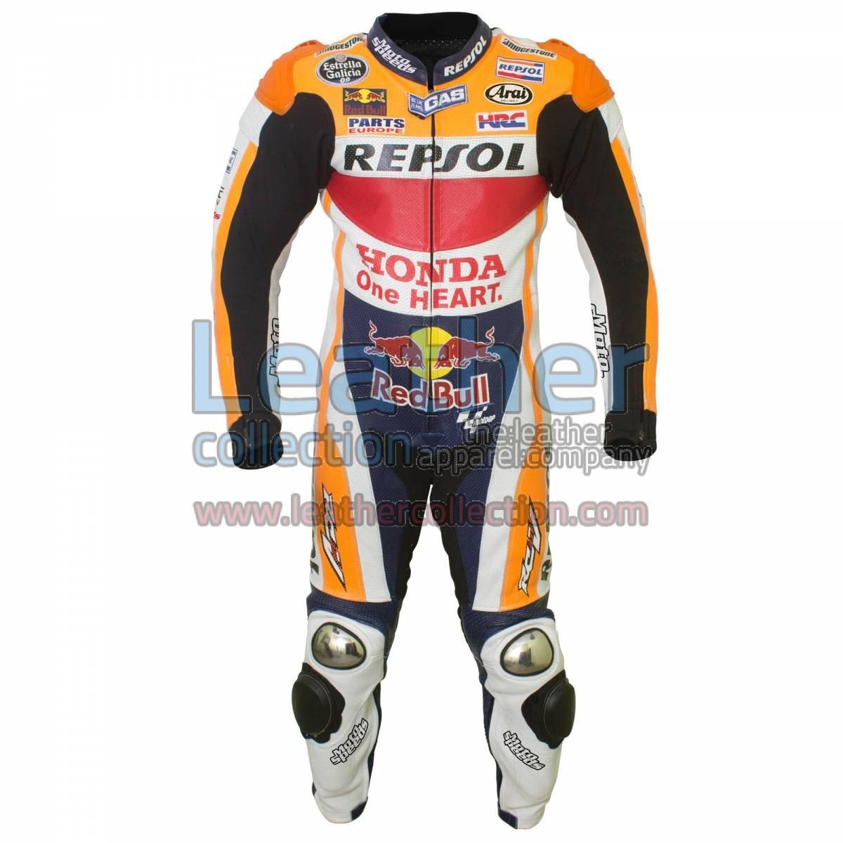 Dani Pedrosa Honda Repsol MotoGP 2015 Leathers