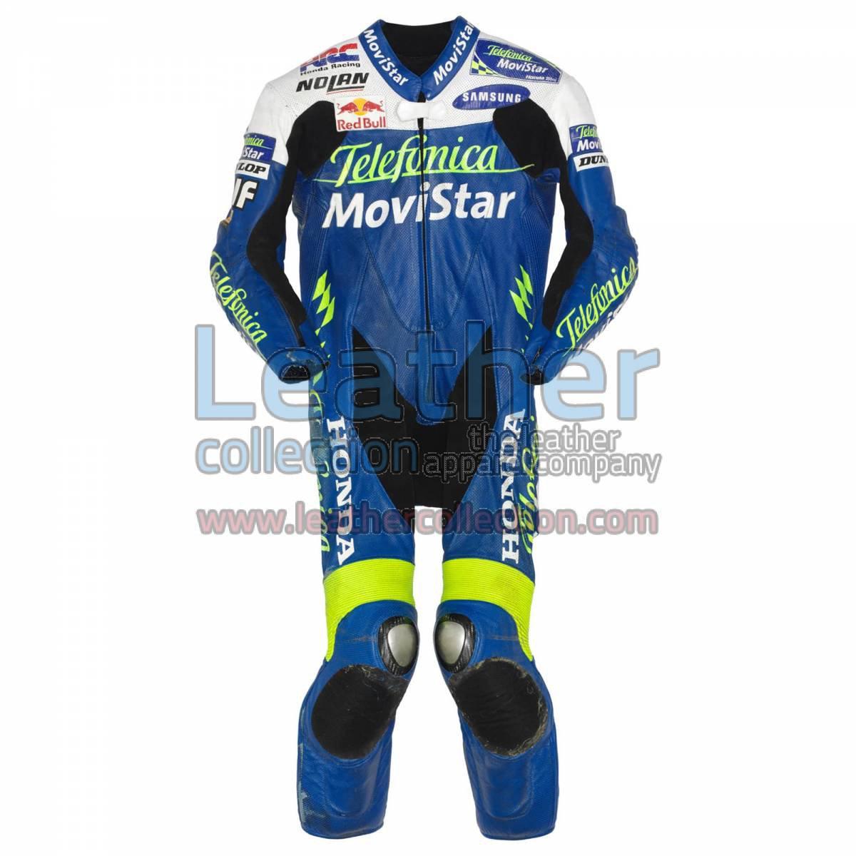 Dani Pedrosa Movistar Honda GP 2004 Leather Suit