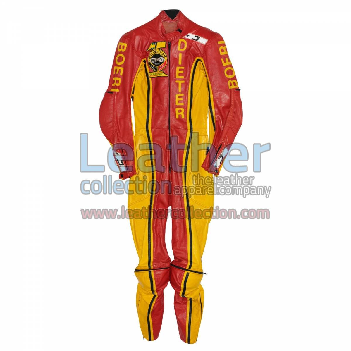 Dieter Braun Yamaha GP 1973 Leather Suit