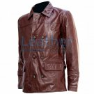 DR Who Brown Leather Coat