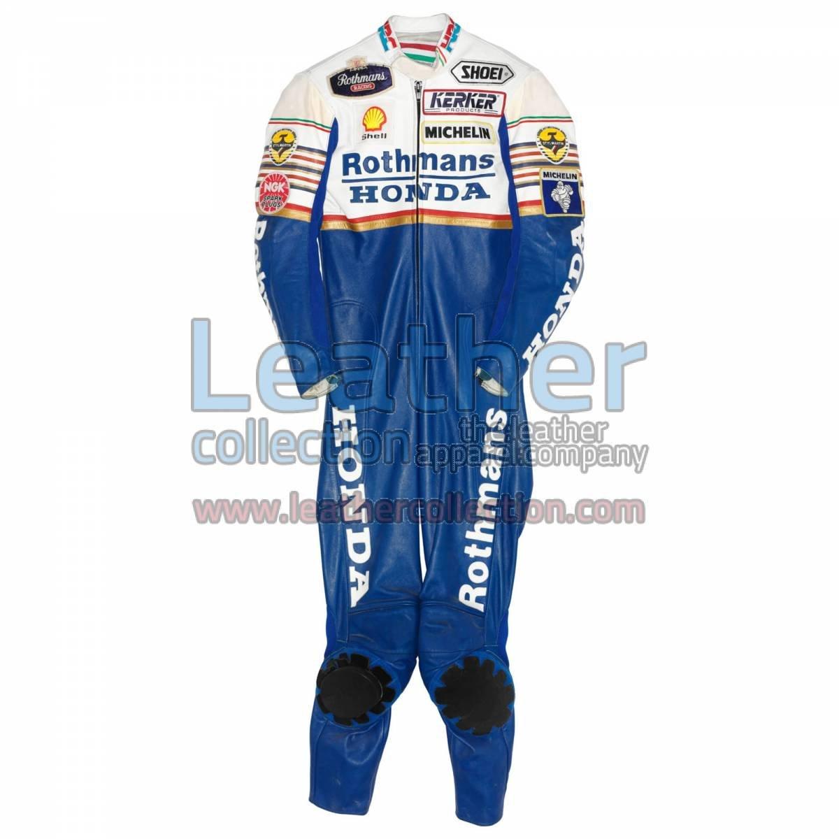 Eddie Lawson Rothmans honda GP 1989 Leathers