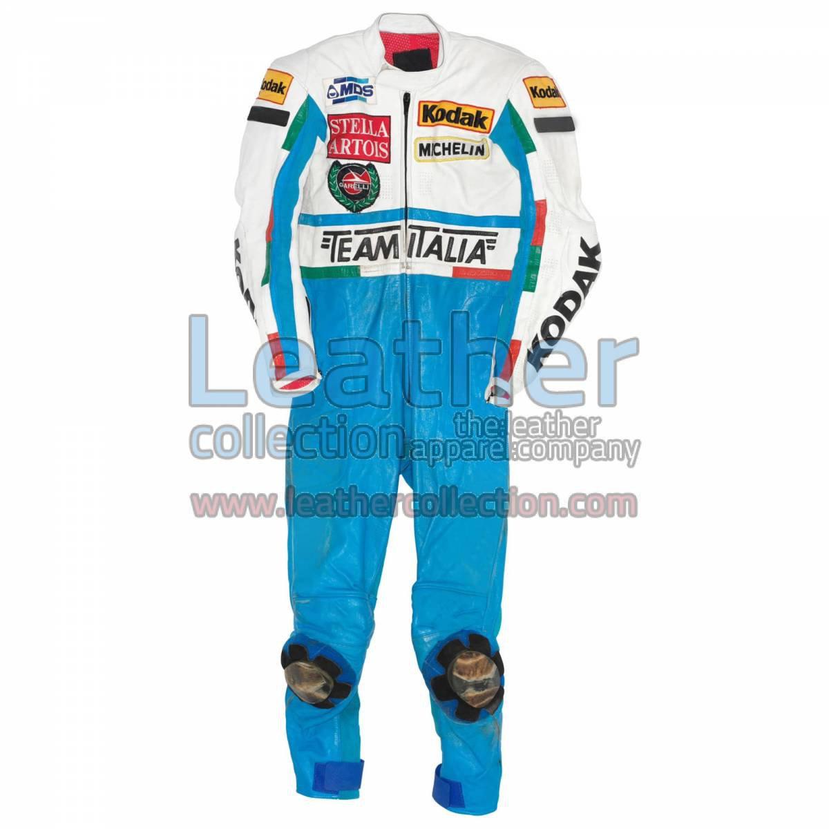 Fausto Gresini Garelli GP 1987 Motorbike Suit