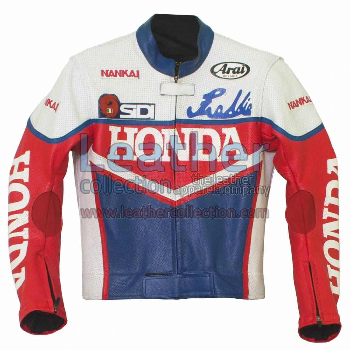 Freddie Spencer Honda Daytona 1985 Leather Jacket