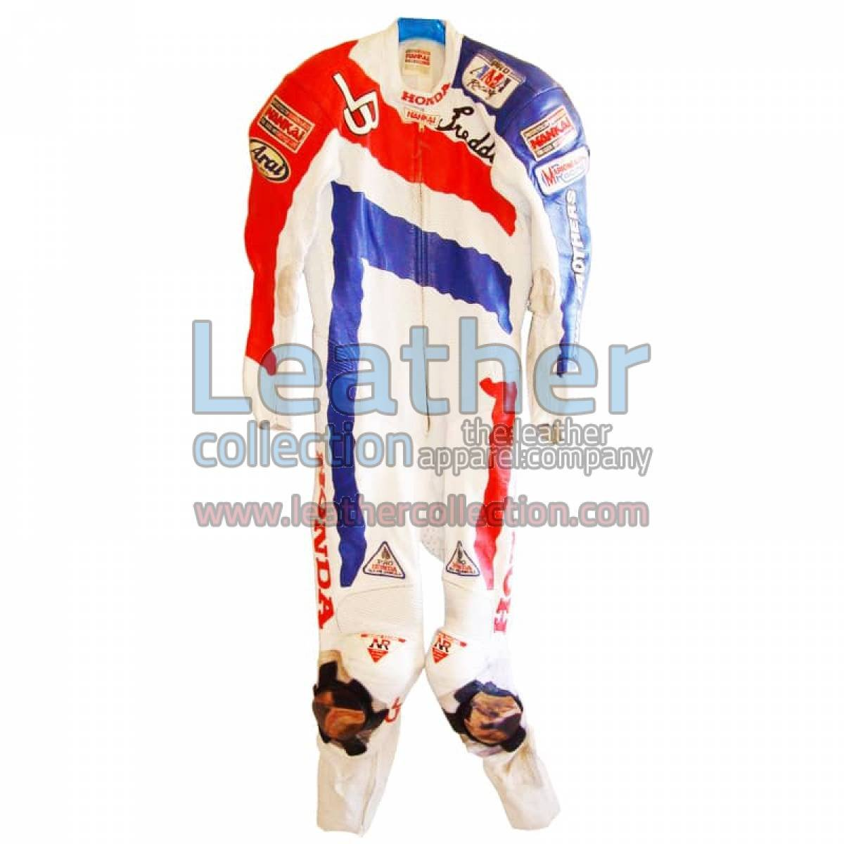 Freddie Spencer Honda Motorcycle AMA 1991 Leathers