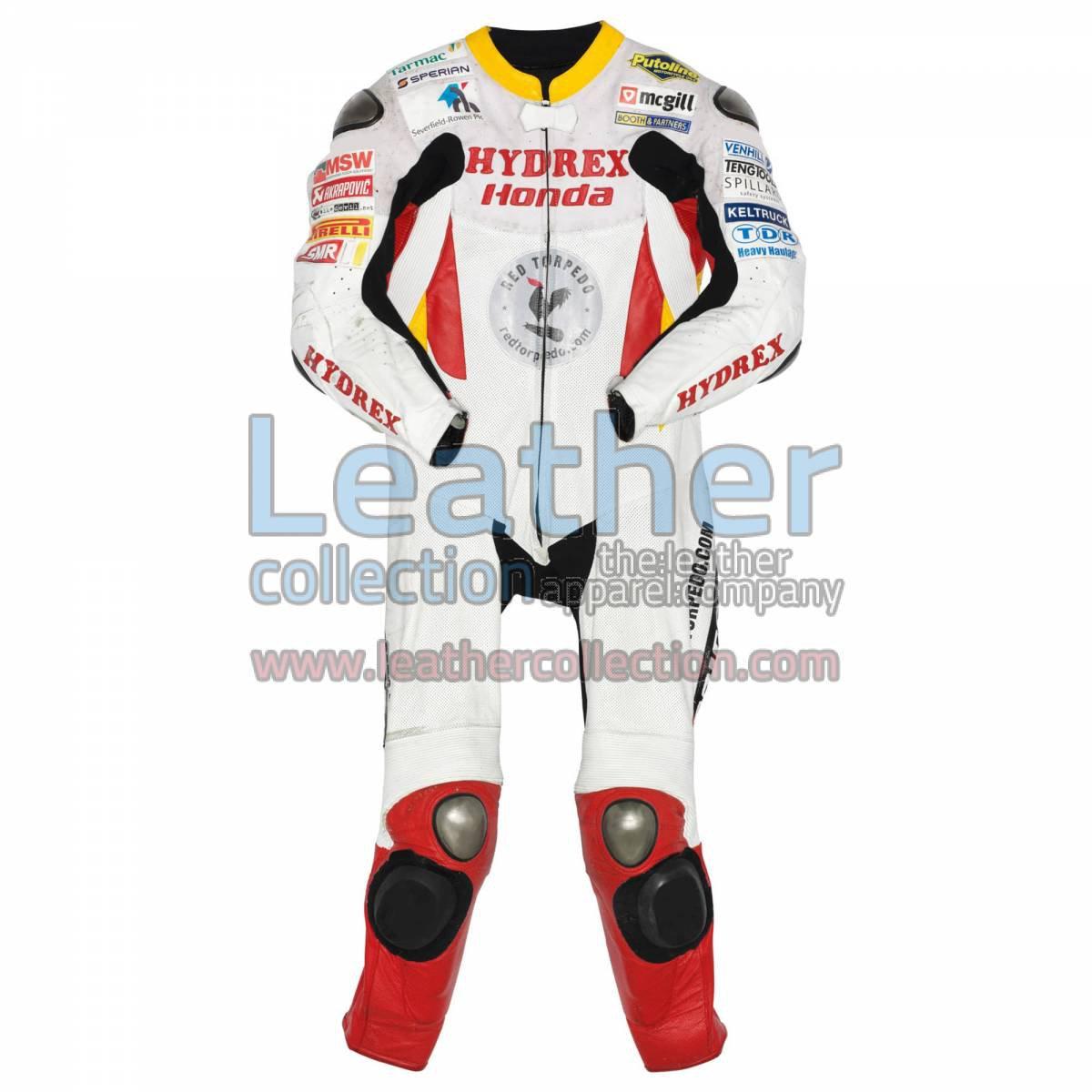 Guy Martin Honda Tourist Trophy 2009 Leathers