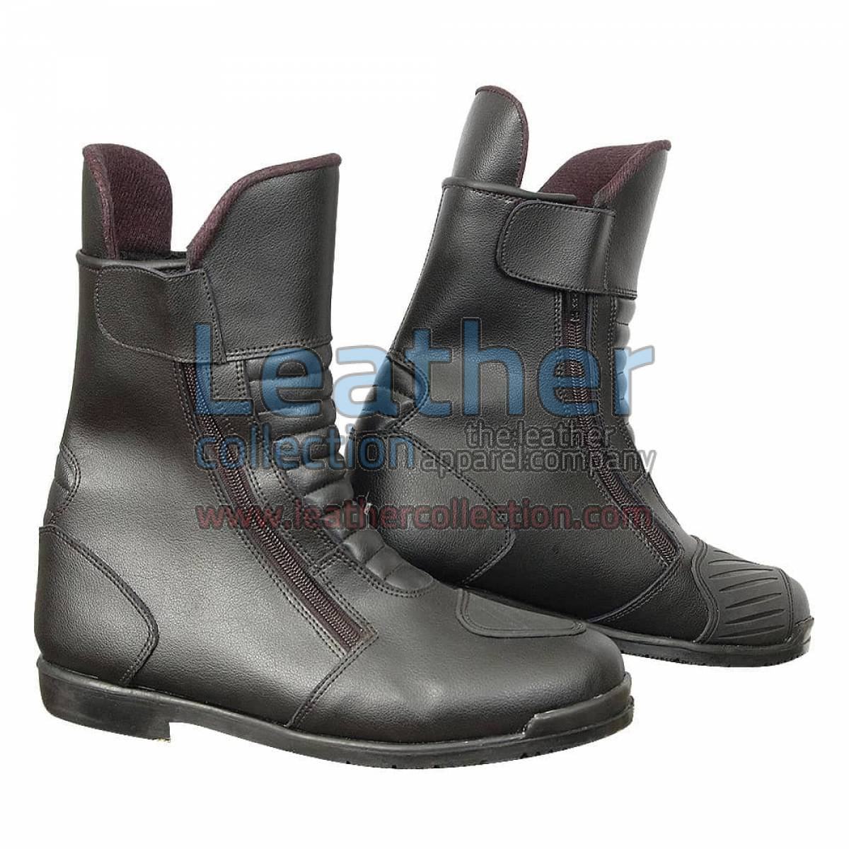 Heritage Black Motorcycle Boots