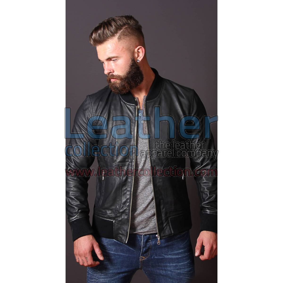 Heritage Leather Jacket For Men