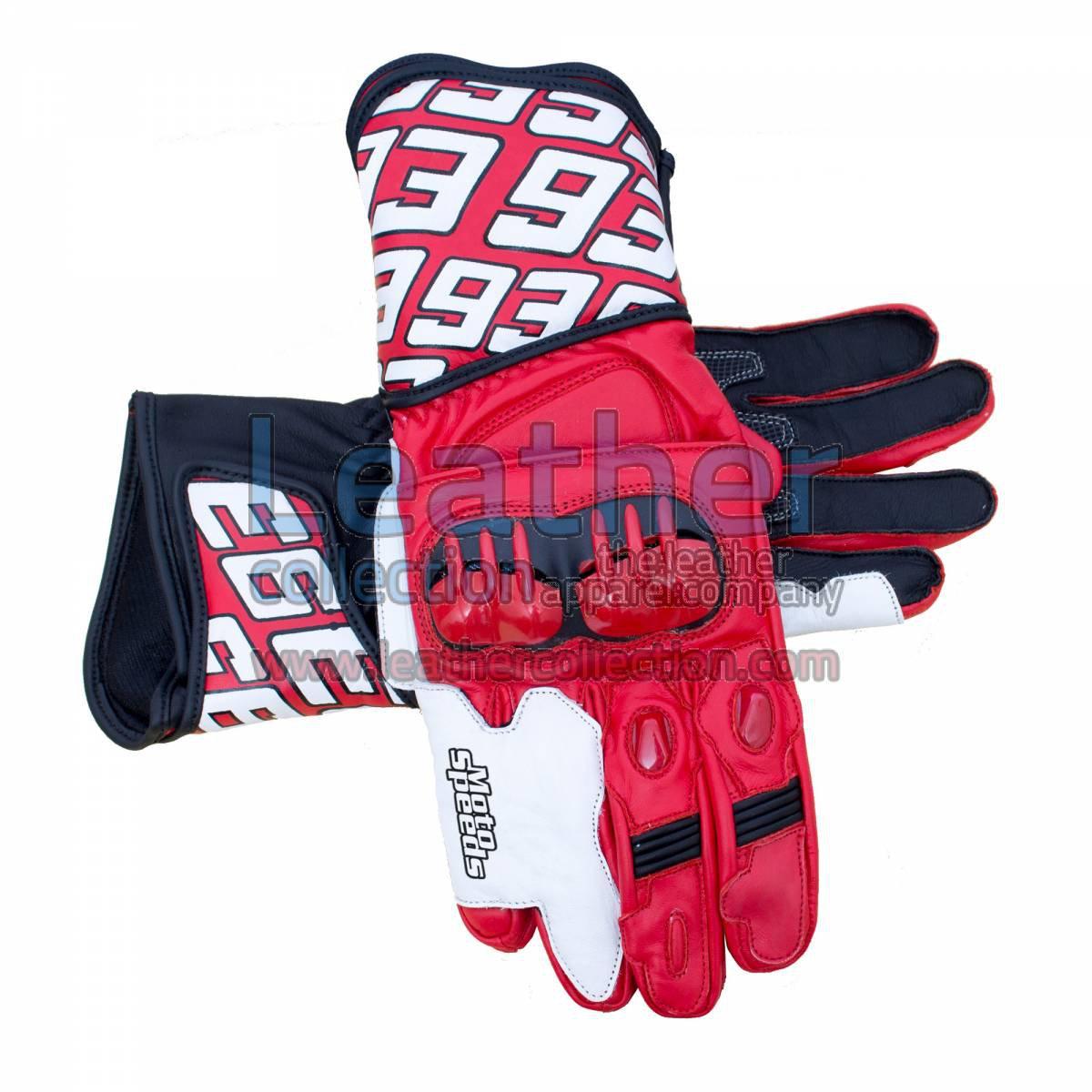 Honda Repsol 2013 Marc Marquez Leather Gloves