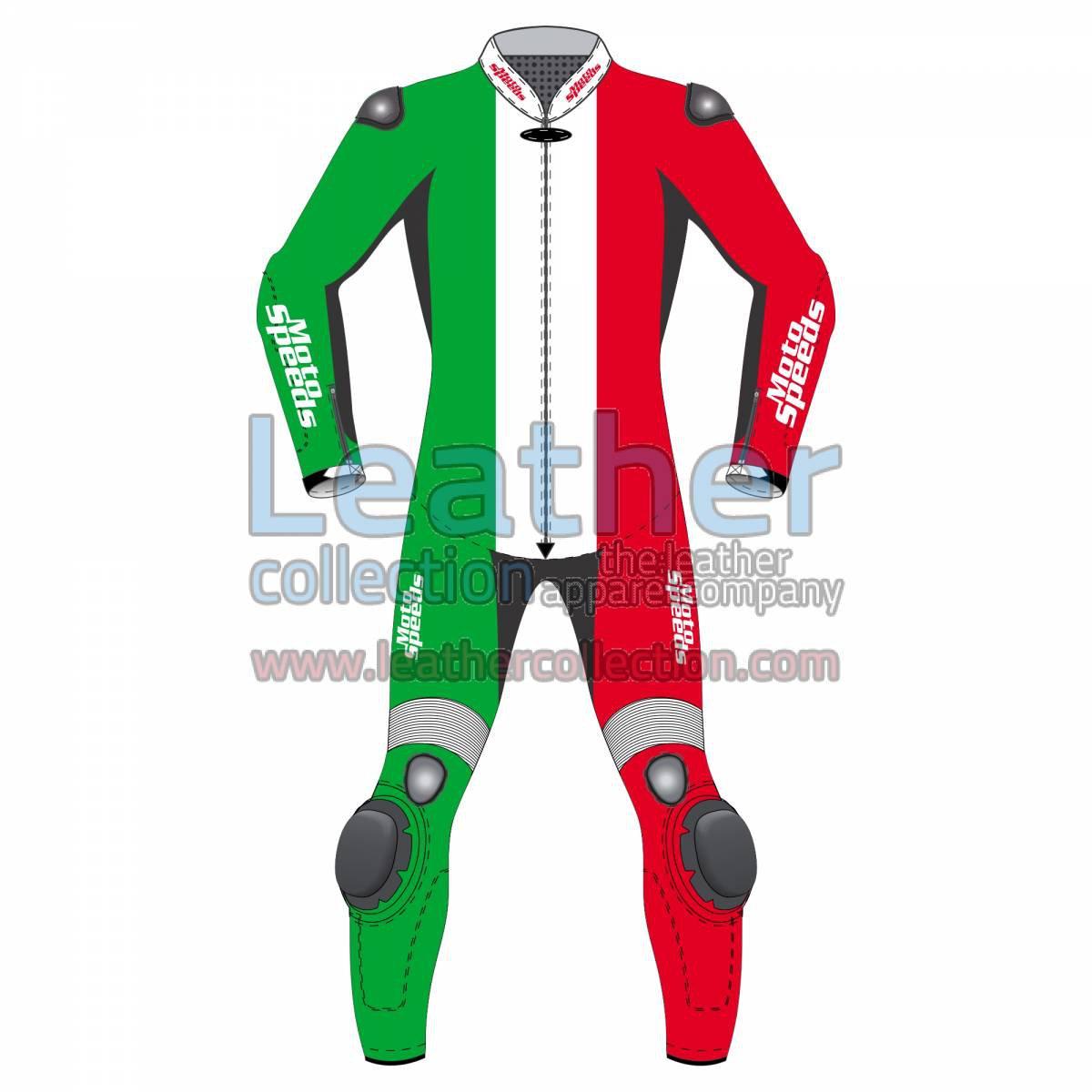 Italy Flag Moto Suit