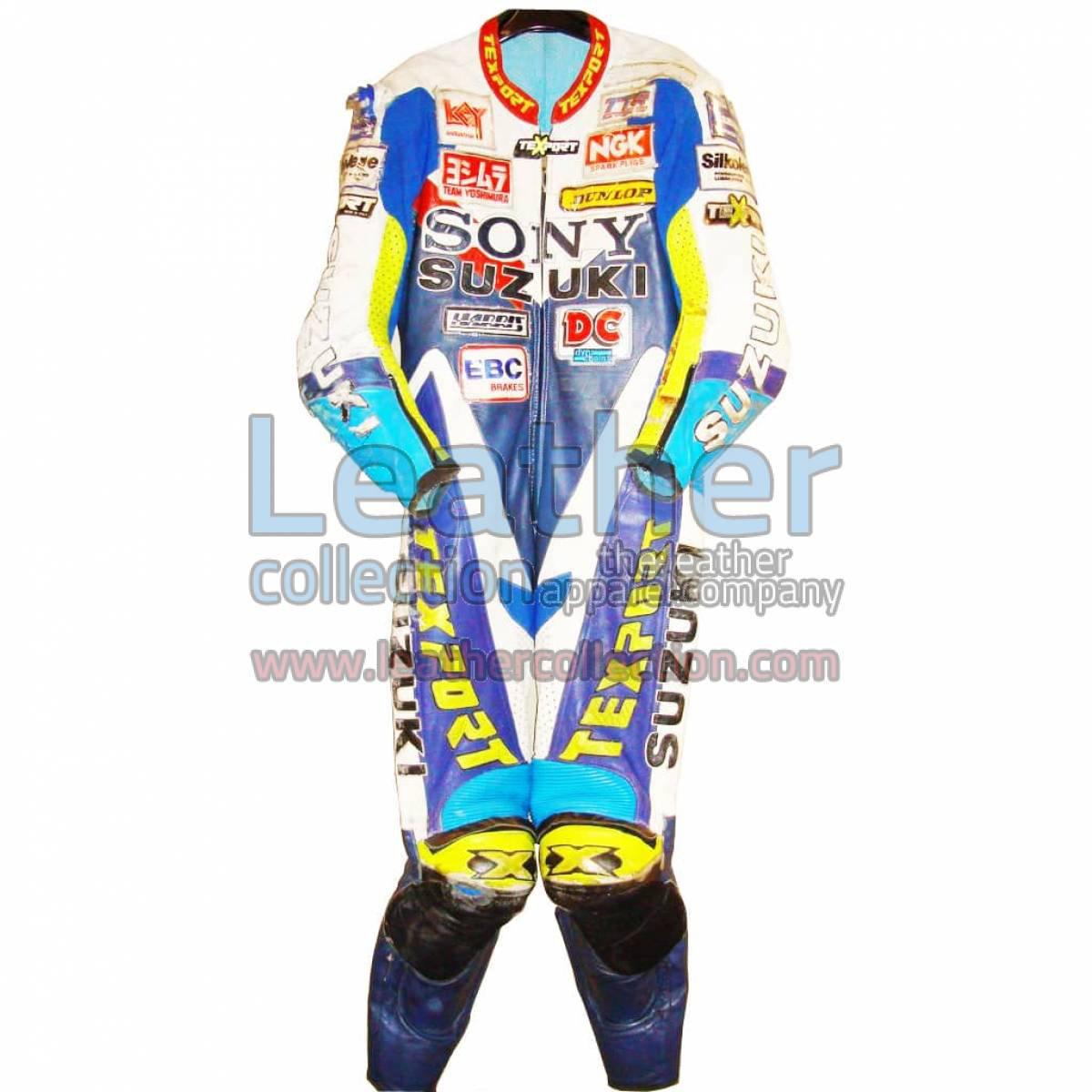 James Haydon Suzuki BSB 1998 Leathers
