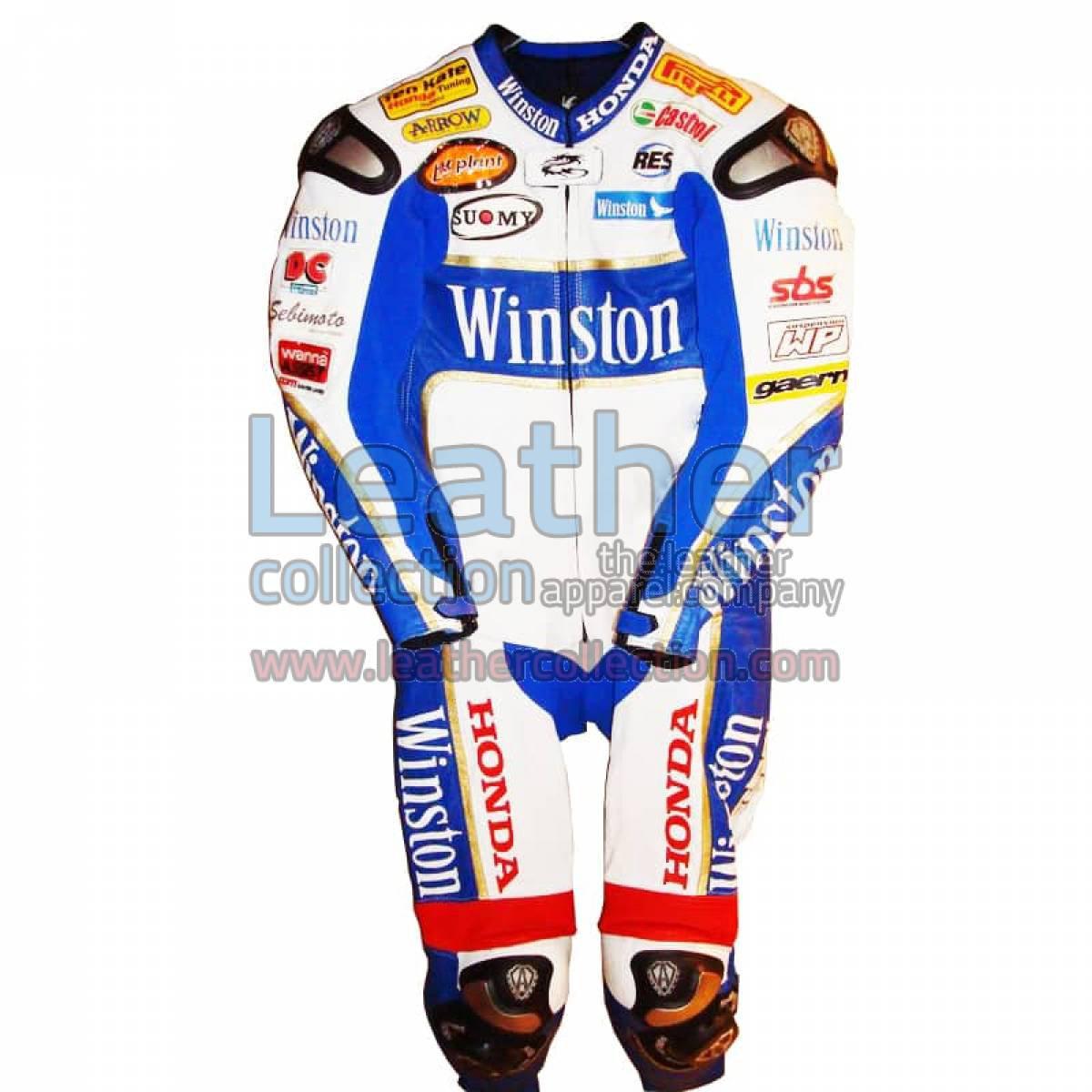 James Toseland Honda WSBK 2006 Leathers