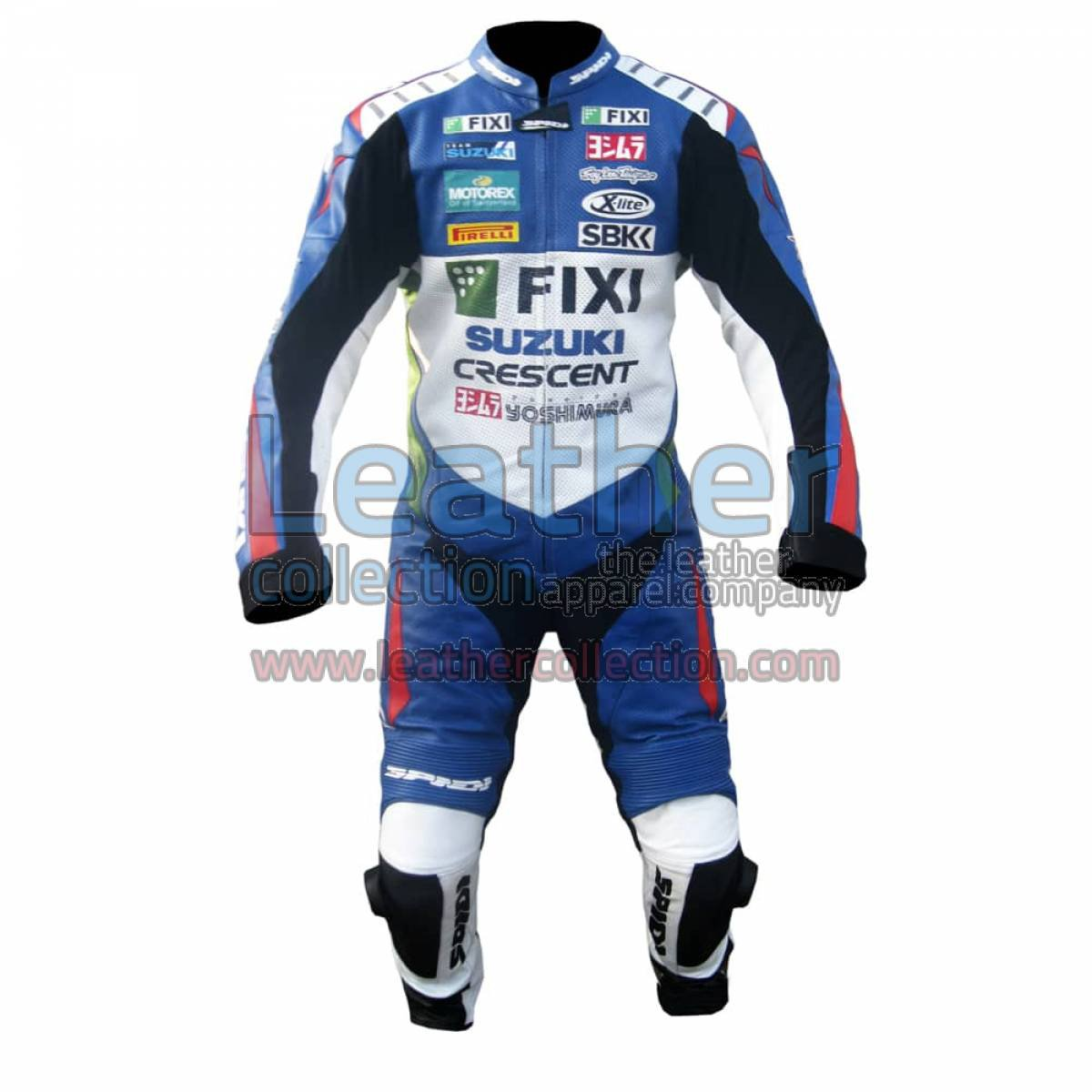 John Hopkins 2012 Suzuki Racing Suit