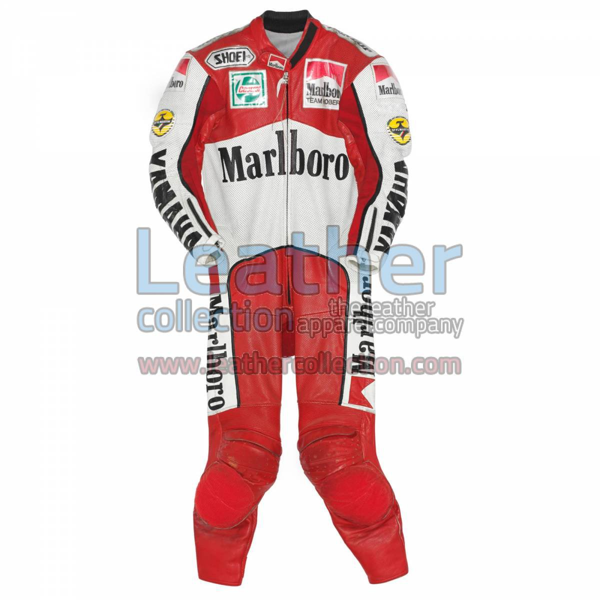 John Kocinski Marlboro Yamaha GP 1990 Leather Suit