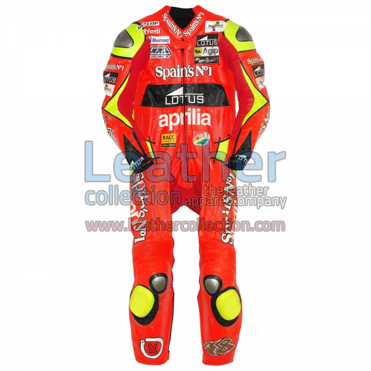 Jorge Lorenzo Aprilia GP 2006 Leathers