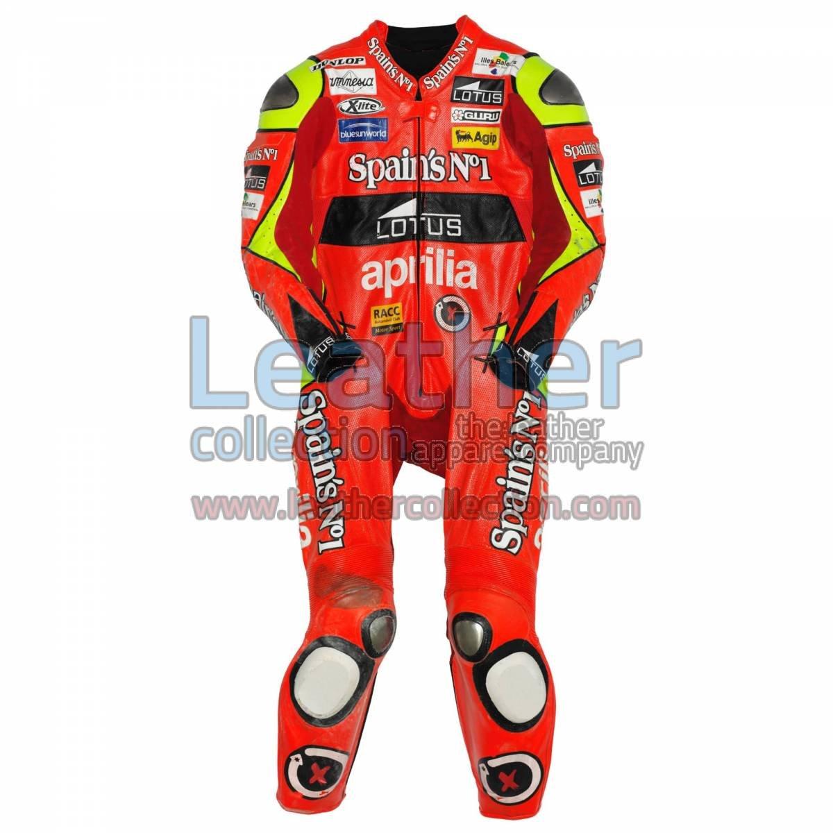 Jorge Lorenzo Aprilia GP 2007 Leather Suit